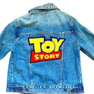 M Disney Toy Story Jean Jacket, front patches